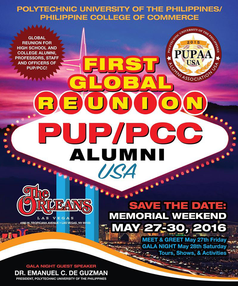 PUP/PCC Alumni USA Global Reunion 2016