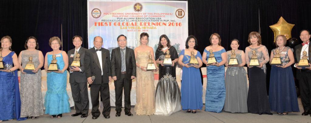 distinguished alumni awardees