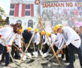 GROUNDBREAKING OF TAHANAN NG ATLETA - PROJECT OF PUP/PCC ALUMNI ASSOCIATION-USA